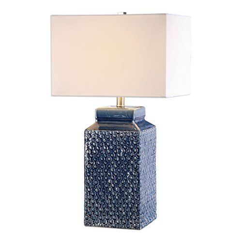 uttermost-27229-1-pero-one-light-table-lamp-textured-sapphire-blue-glaze-brushed-nickel-finish-with-