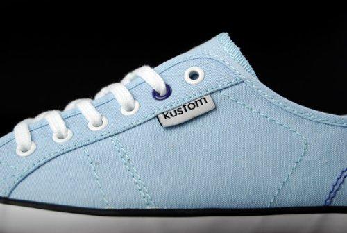 Kustom , Baskets pour femme Bleu - Chambray
