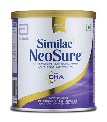Similac NeoSure for Premature baby for Low birth weight (less than 2.5Kg)