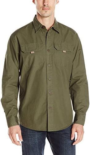 Wrangler Authentics Mens Big and Tall Long-Sleeve Classic Woven Shirt