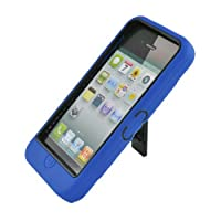 Eagle Cell Rugged Armor Hybrid Combo Case with Kickstand for LG Optimus G E970 - Retail Packaging