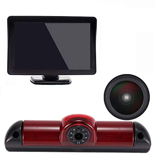 【HD Super HD achteruitrijcamera set】 4,3 inch TFT LCD-kleurenscherm automonitor + 1280 * 720 pixels 1000TV lijnen HD…