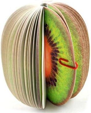 Bloc de notas de notas de fruta creativa Bloc de notas de notas de papel Bloc de notas
