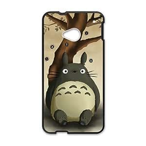 HTC One M7 Phone Case Black My Neighbor Totoro HJF682253