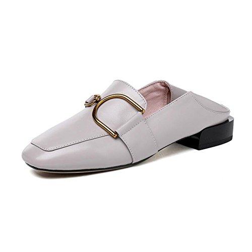 Profond Bouche EU35 Talons T3 Dames Femmes Peu Couleur T3 Faible Élégant Chaussures Bureau Taille UK3 Travail CJC Talon BHf5wEqf