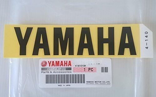 Yamaha 99244-00140 - Genuine Yamaha Decal Sticker Emblem Logo Black Large Self Adhesive Motorcycle / Jet Ski / ATV / Snowmobile