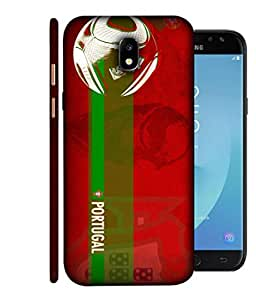 ColorKing Football Portugal 10 Red shell case cover for Samsung J7 Pro 2017