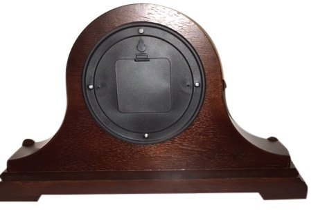Vmarketingsite Decorative Mantel Clock with Westminster Chime, 9'' x 16'' x 3'', Walnut by Vmarketingsite (Image #4)