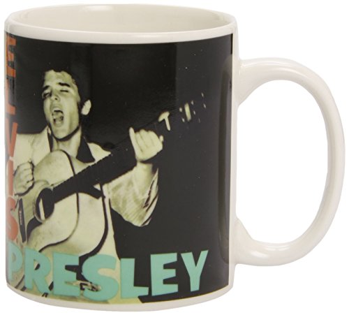 Rock Off Elvis Presley Album Cover Ceramic Coffee Mug