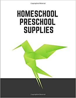 Homeschool Preschool Supplies Notebook Lined Large