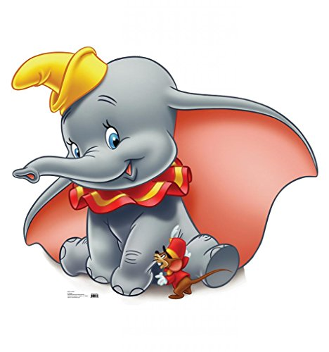 Dumbo - Advanced Graphics Life Size Cardboard Standup (Coolest Cartoon Characters)