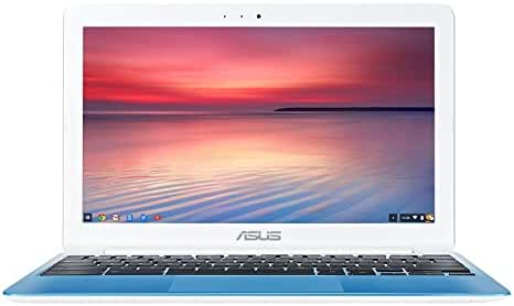 ASUS Chromebook, 11.6 inches Rockchip 1.8 GHz, 4GB, 16GB EMMC, Chrome OS - White (Certified Refurbished)
