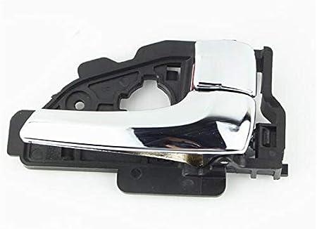 NO LOGO KF-Manche Gauche//Droite plaquent Couleur vive INT/ÉRIEUR POIGN/ÉE Porte for Hyundai IX35 Tucson Taille : A Pair