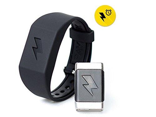 Pavlok Shock Clock Wake Up Trainer  Wearable Smart Alarm Clock - Never Hit Snooze Again