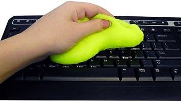 Gel en masilla para limpiar teclado, teléfono, ordenador