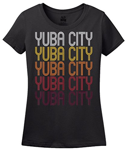 Yuba City, CA   Retro, Vintage Style California Pride - City Ca Yuba