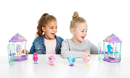 41eoH2pDd5L - Little Live Pets Bird with Cage-Rainbow Glow Childrens Toy