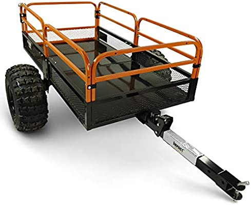 3500lbs MotoAlliance Impact Implements Straight Tongue Trailer Coupler for 2 inch Ball Hitch