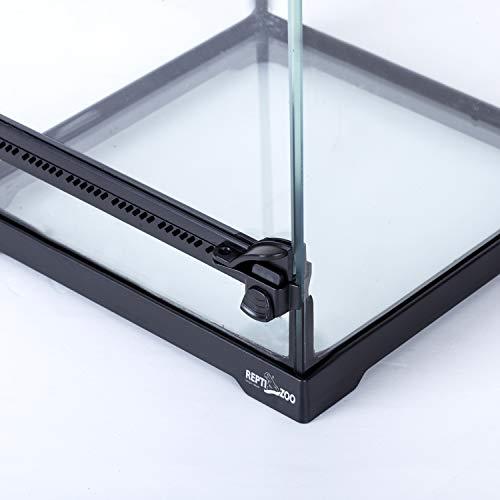 Jual Reptizoo Mini Reptile Glass Terrarium Front Opening Door Full