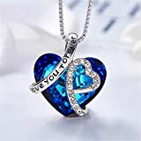 Heart of The Ocean Pendant Necklaces for