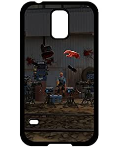 Holiday Gifts Team Fortress 2 Blue Engineer Black Print With Hard Shell Case for Samsung Galaxy S5 8788549ZJ313264691S5 William C. Valdez's Shop