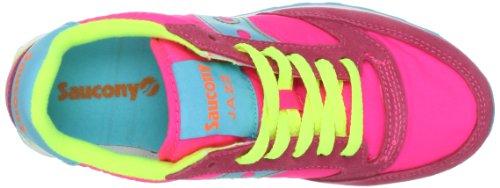 Saucony Originals Damen Jazz Original Sneaker Rosa / Gelb