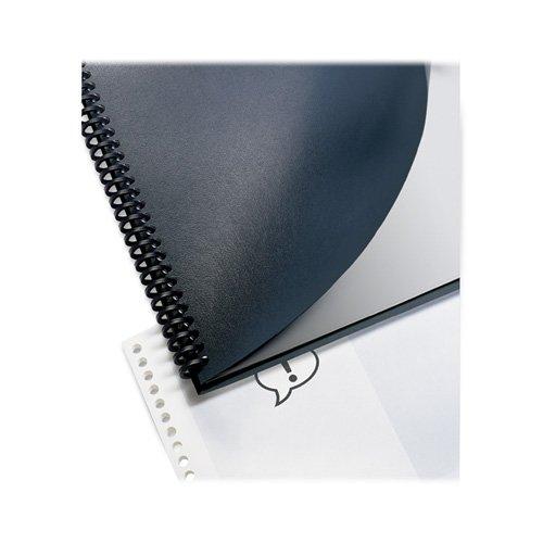 Presentation Covers, Plain, Round Corners, 200/BX, Black, Sold as 1 Box - Swingline Presentation Covers, Plain, Round Corners, 200/BX, Black