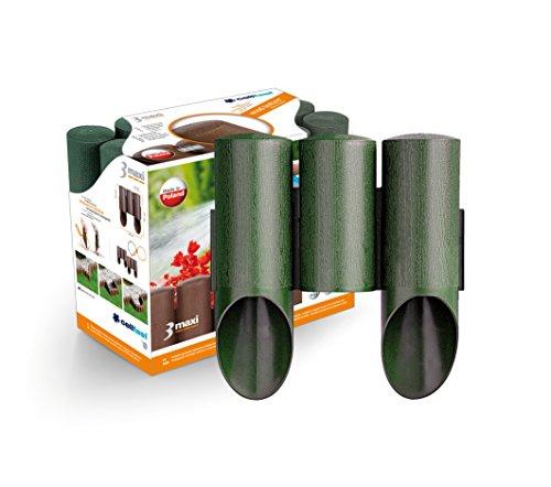 Palisade zur Beeteinfassung grün MAXI 2,1 m Rasenkante Beetumrandung Gartenpalisade Raseneinfassung