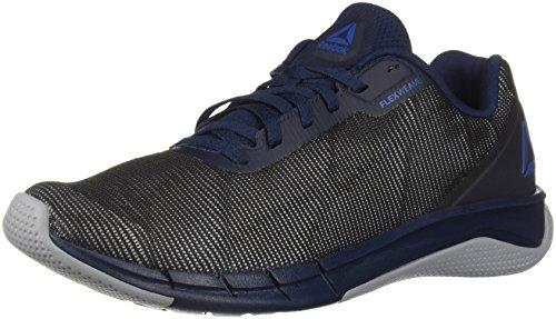 Reebok Men's Fast Flexweave Running Shoe, Collegiate Navy/Cool shad, 10.5 M US