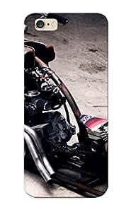 Exultantor High-quality Durability Case For Iphone 6 Plus(bike Engines Chopper Ride Yamaha Rust Suspension Motorbikes Air Bikers Rat Bike )