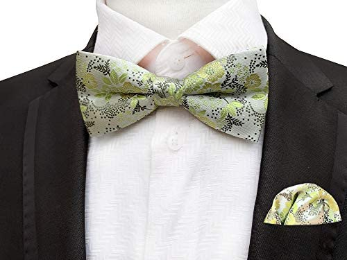 Bow Tie and Hankie Set for Prom weddings and Black Tie Clearance Price