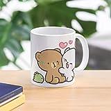 Mocha And Cute Milk Bears Bear Love Best Mug holds