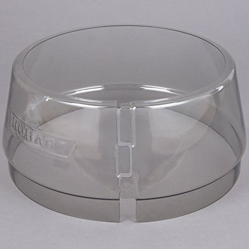 Hobart SPLASH-LEX030 Classic / Legacy Lexan Splash Cover for 30 Qt. Bowls