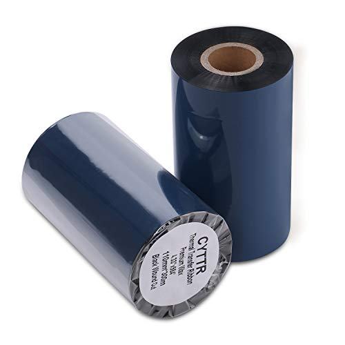 (Thermal Transfer Ribbon - Premium Resin-Enhanced Wax - 4.33