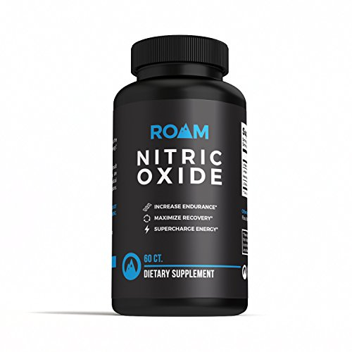 Roam Nitric Oxide L Arginine supplement: L Citrulline Malate Dietary Supplement Pills for Muscle Growth, Libido Enhancement, Fat Loss, Stamina and Energy Boost, and Heart Support 60 Capsules