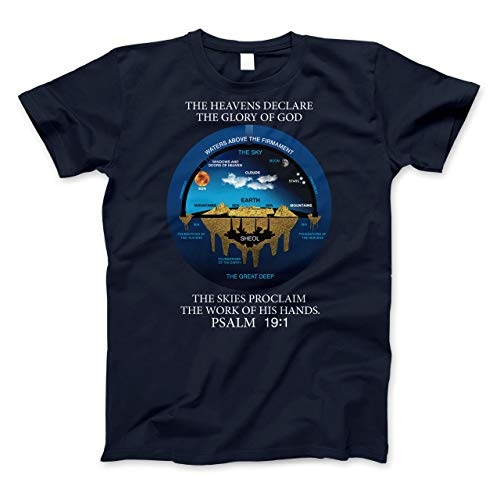 Flat Earth Shirt Ancient Hebrew Cosmology Conception Of The Universe T Shirt