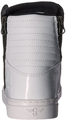 Creatieve Recreatie Heren Adonis Fashion Sneaker Zwart / Wit Patent