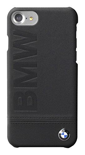 BMW Leder Hard Case schwarz Logo für Apple iPhone Iphone 7 BMHCP7LLSB