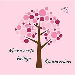 Meine Erste Heilige Kommunion Gästebuch Erinnerungsbuch