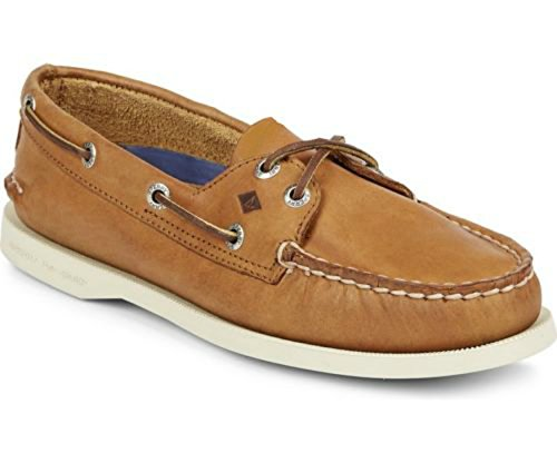 Sperry Top-sider Mens A / O 2-eye Ac Otusa Oracle Team Usa Tan Boat Shoes
