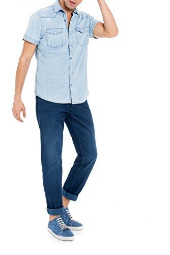 Salsa - Chemise en jean à manches courtes - Homme