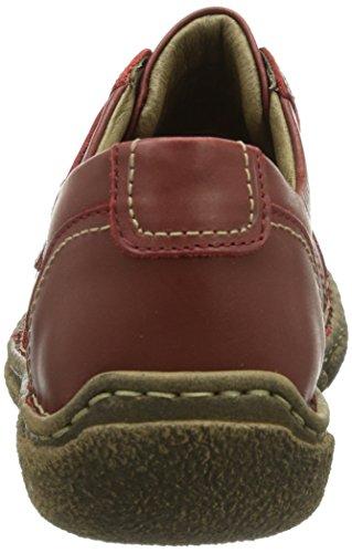 Neele Basse 579 Josef Donna castagne carmin Rosso Sneaker 04 rot Seibel FIxxq5S