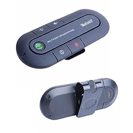 RYC Transmisor Bluetooth Ultra Delgado Inalámbrico Función de Manos Libres para Coche