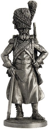 scale 1//32 Tin Toy Soldiers Metal Sculpture Miniature Figure Collection 54mm Sapper pedestrian grenadiers of the Imperial Guard Nap-03 France