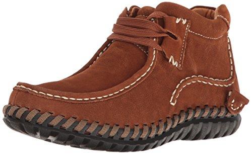 Bernie Kvinna Mev Tampa Chukka Boots Cognac
