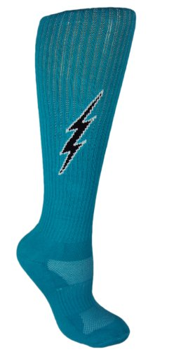 MOXY Socks Knee-High Lightning Electric Insane Bolt Deadlift Socks