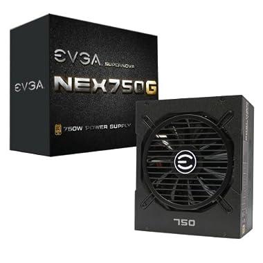 EVGA SuperNOVA 750 G1, 80+ GOLD 750W, Fully Modular, 10 Year Warranty, Includes FREE Power On Self Tester, Power Supply 120-G1-0750-XR