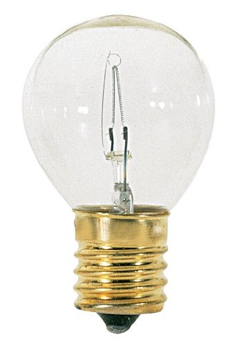 Satco S3629 Intermediate Base 40-Watt S11 Light Bulb, (120 Volt S11 Intermediate Base)