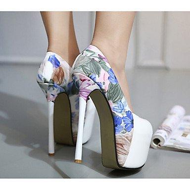 pwne La mujer Tacones Zapatos Club Cowhide Casual blanco y negro blanco Black