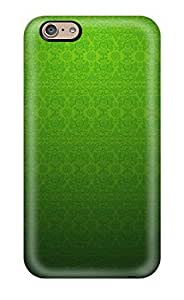 Durable Protector Case Cover With Green Pattern Hot Design For Iphone 6